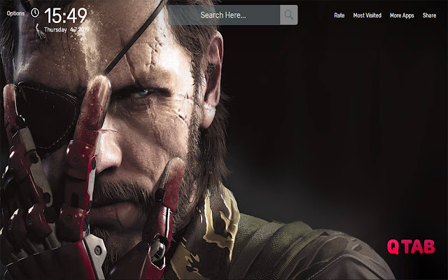 Metal Gear Solid Wallpapers HD Theme