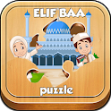 Alif Ba Puzzle Game For Kids icon