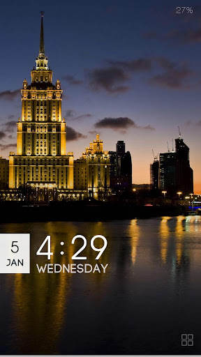 ZUI Locker Theme - Moscow
