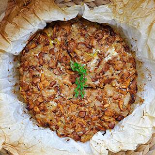 Chanterelle Mushroom Pasta Tart | Gluten-Free!
