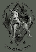 Photo: Brand new exclusive design that benefits Northwest Battle Buddies which is an organization that provides service dogs to combat veterans with PTSD. You can purchase this shirt at 23Channels.org from 3/24/14 - 4/6/14