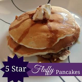 5 Star Fluffy Pancakes.