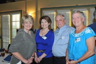 Photo: Pam Johnson Rosemond, Lyn Reeves Griffiths, Mike Laboski, Barbara Berrey Howard