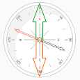 Compass Simple icon