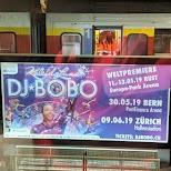 DJ Bobo in Lötschental, Valais, Switzerland