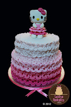 Photo: Hello Kitty Cake by Luscious Fascination by Arjoy  (8/22/2012) View cake details here: http://cakesdecor.com/cakes/26018