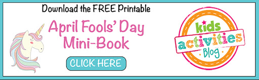 Get the April Fool's Day Mini Activity Book!