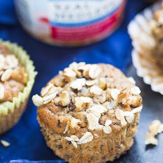 Maple Banana Nut Oatmeal Muffins
