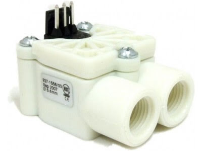 AquaComputer strømningsensor, sensorik