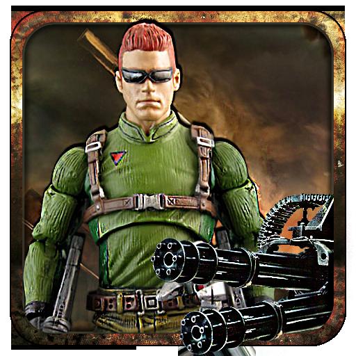 动作の現代のガンシップの砲手 LOGO-記事Game