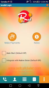 Redcall M-Dialer - náhled