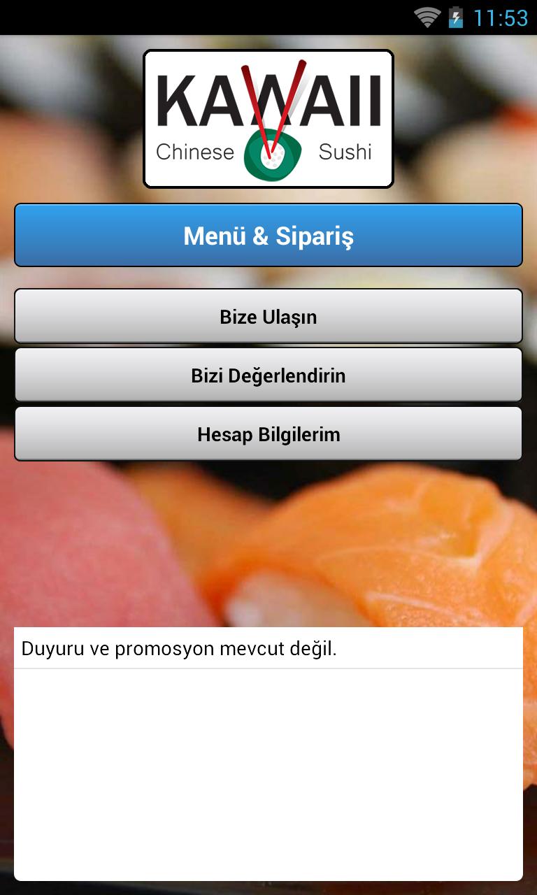 Скриншот Kawaii Chinese & Sushi