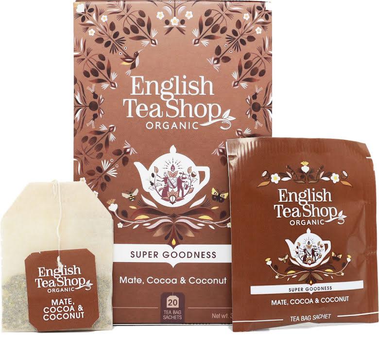 Örtte yerba mate, kakao & kokosnöt - English Tea Shop