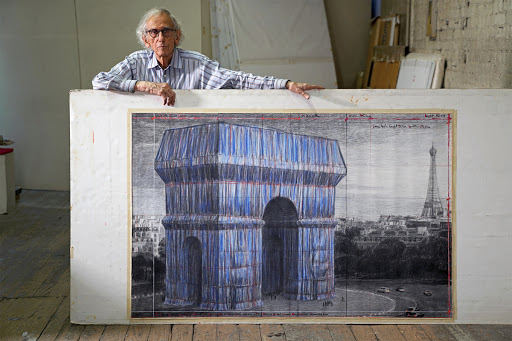 Christo's Long-Delayed Wrap of the Arc de Triomphe Has an Opening Date