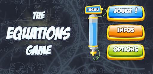 The Equations Game captures d'écran