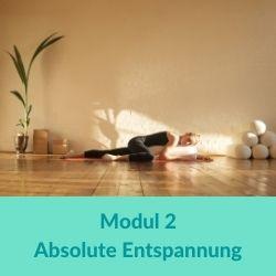 Restorative Yoga Modul 2