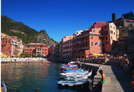le tour des lacs italien à moto, Cinque Terre, Ferrari , Ducati