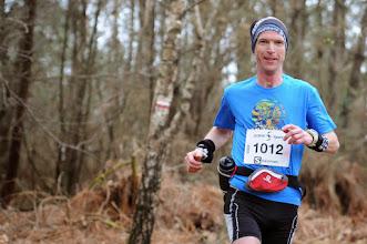 Photo: Course hors stade  22/03/2014  Trail des Trois Chapelles Bains-sur-Oust  43 km  Cédric Blanty  Nantes