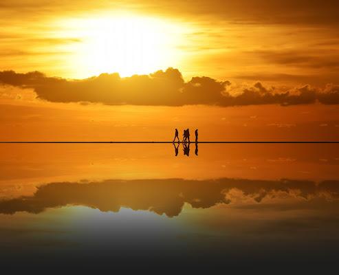 Riflessi al tramonto di Luciano Fontebasso