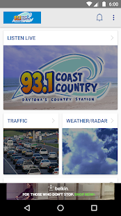WKRO 93.1FM - Coast Country- screenshot thumbnail