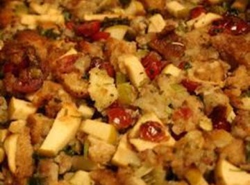 Sausage, Apple, Cranberry Dressing Recipe