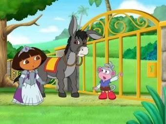Dora et l'histoire de chevalier