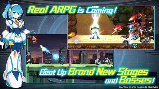 Mega Man X Dive [Mod] Apk - God Mode, Mod Menu
