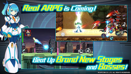 Mod Game MEGA MAN X DiVE for Android