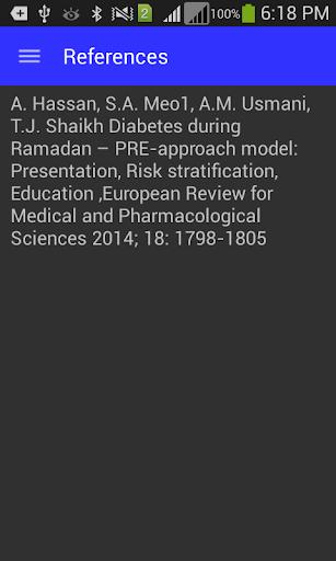 Ramadan Diabetes