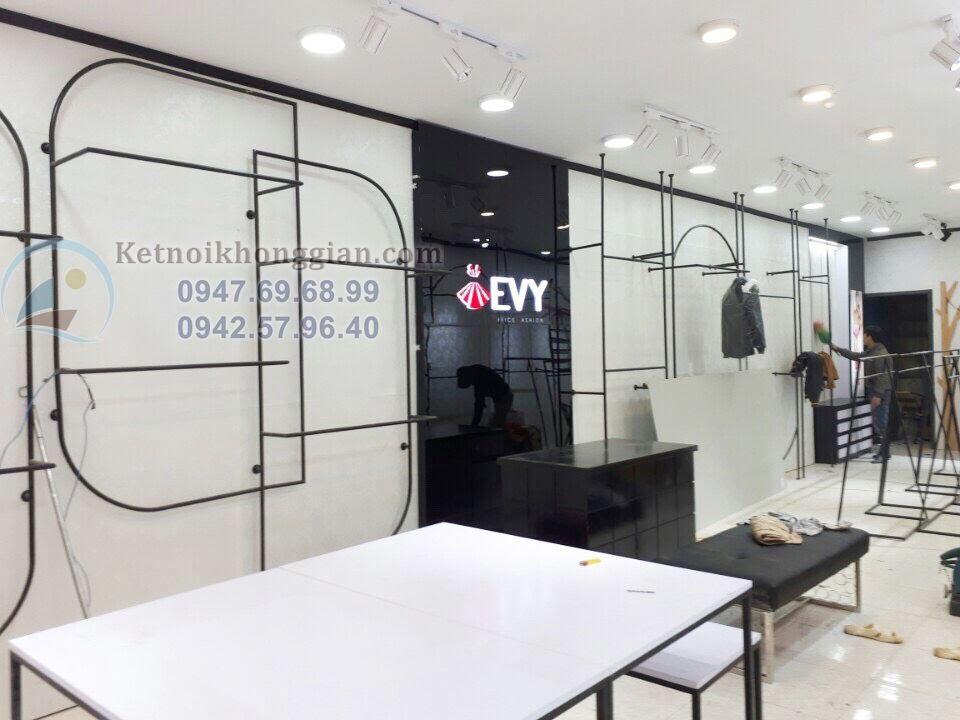thiết kế shop thời trang công sở cao cấp