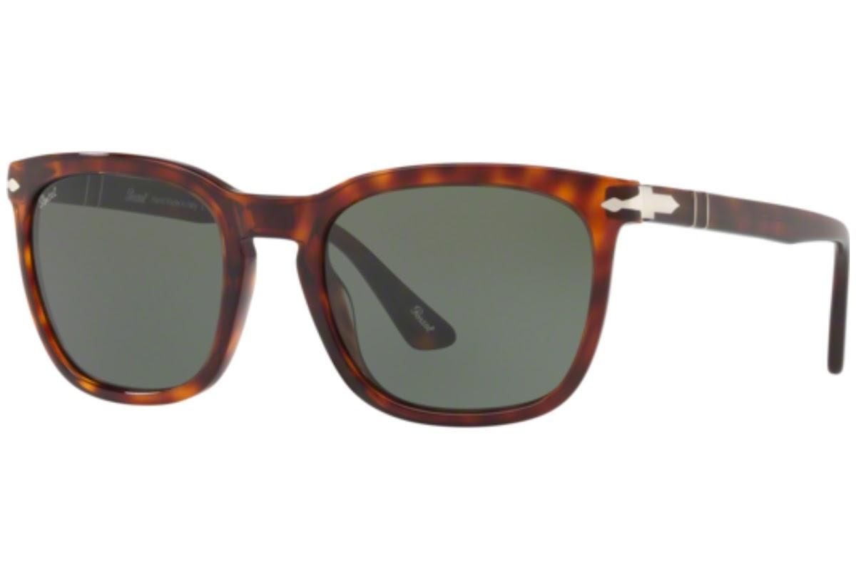 PERSOL Persol Herren Sonnenbrille » PO3193S«, braun, 108/M2 - braun/braun