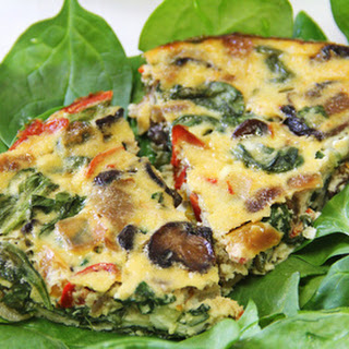 Veggie Herb and Egg Casserole