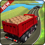 Truck Cargo Driving Hill Simulation: Truck Games Icon