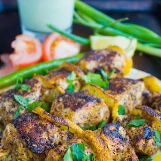 Turkish Style Chicken Skewers.