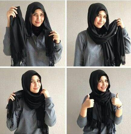 Hijab Style Tutorial Ideas