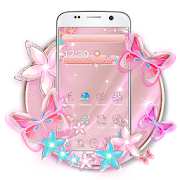 App Rose Gold Butterfly APK for Windows Phone