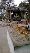 Photo: Nandi statue - Chamundi hills