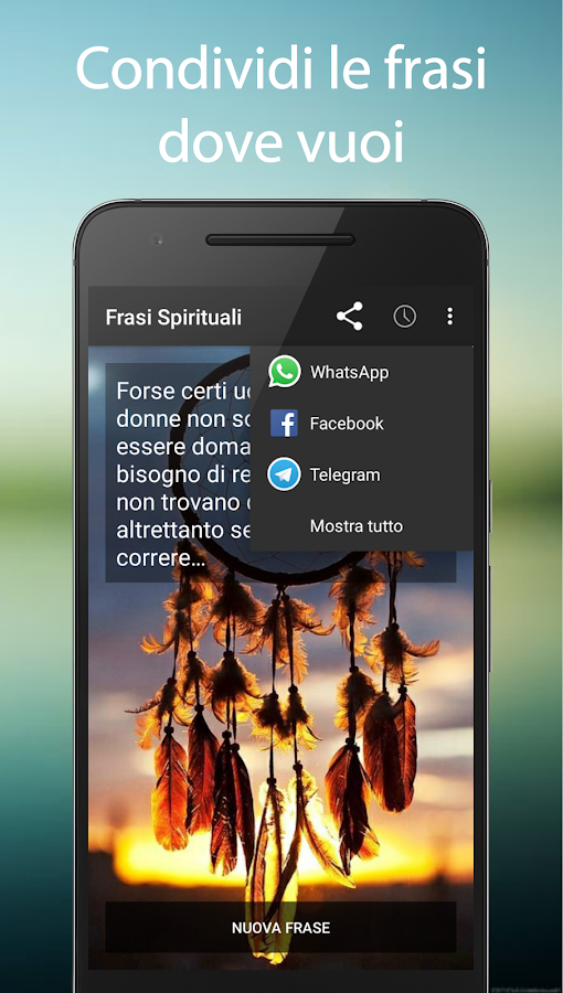 Frasi Spirituali- screenshot