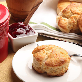 Two Ingredient Never-Fail Cream Biscuits