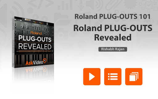 Course For Roland PLUG-OUTS