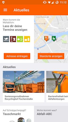 Abfall-App   BSR  screenshots 1