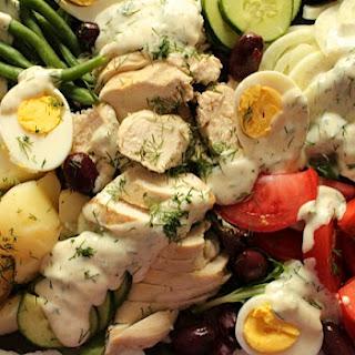 Scandinavian Salade Nicoise with Poached Chicken Recipe