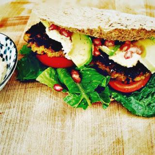 Roasted Cauliflower and Quinoa Burgers