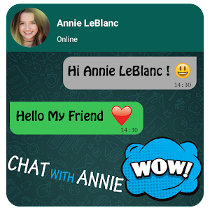 Chat With Annie LeBlanc Prank