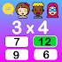 Times Tables Free- fun educational multiplication