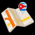 Mapa de Cuba offline icon