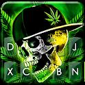 Rasta Weed Skull Keyboard Theme icon