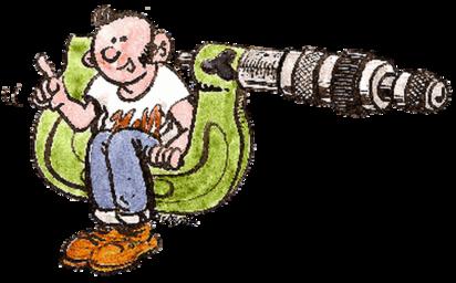 Le logo des belles histoire d'Harry Moteur, le chroniqueur de Machines et Moteurs.