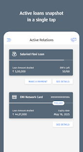 Bajaj Finserv - Instant Loans and Credit Card app Screenshot