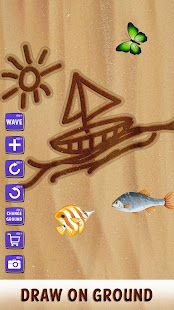 Sand Draw Sketch Pad - Creative Name Doodle Art - náhled